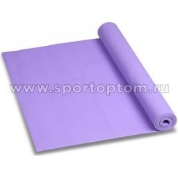 Коврик для йоги и фитнеса INDIGO PVC YG03 173*61*0,3 см Сиреневый
