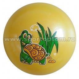 Мяч резиновый детский GREAT G-1-23                    23 см