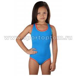 Купальник для плавания  SHEPA слитный детский 001 Синий