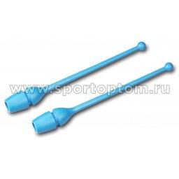 Булавы для художественной гимнастики вставляющиеся AMAYA (термопластик) 320401 36 см Бирюзовый