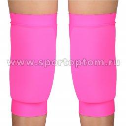 Наколенник для гимнастики и танцев INDIGO NORA удлинённый усиленный  SM-377 M Розовый
