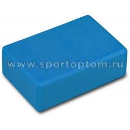 Блок для йоги INDIGO  97416 IR  22,8 х15,2 х7,6 см Синий