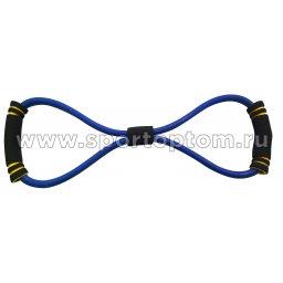 Эспандер Восьмёрка LATEX INDIGO HEAVY 1 жгут SM-063 Синий