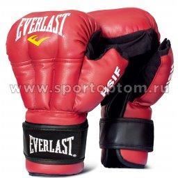 Перчатки для рукопашного боя EVERLAST HSIF PU  RF3112 12 унций Красный