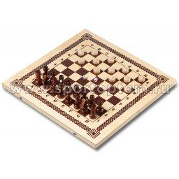 Игра 3 в 1 деревянная (нарды, шахматы, шашки) IG-04