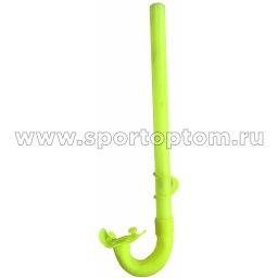 Трубка для плавания детская (с загубником, маскодержатель) 1161 (H029) Зеленый