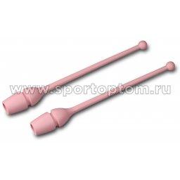 Булавы для художественной гимнастики вставляющиеся AMAYA (термопластик) 320401 36 см Розовый