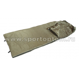 Спальник SM одеяло с капюшоном 0+10 SM-304 75*220 см Хаки