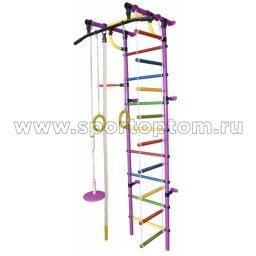 ДСК Гамма - 1К Плюс пристенный Г1КП9.15-П  2300*950*525 мм Фиолетовый-радуга
