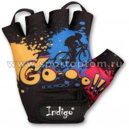 Перчатки вело INDIGO GO