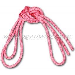Скакалка для художественной гимнастики Утяжеленная 165 г AMAYA соревновательная 3403000 3 м Розовый