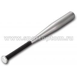 "Бита бейсбольная алюминевая TELOON 0624 -ТВАТ 24"" Серый металлик"