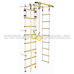 ДСК Юный АТЛЕТ пристенный А8.3-П 2200*900*600 мм Бело-желтый