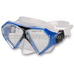 Маска для плавания  INDIGO TRUCHA  детская IN059 Голубой