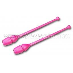 Булавы для художественной гимнастики вставляющиеся AMAYA (термопластик) 320202 41 см Фуксия