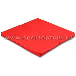 Мат гимнастический складной SM-108  Красный (1)