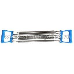 Эспандер плечевой INDIGO 5 пружин пластиковые ручки 97702 IR 60 см