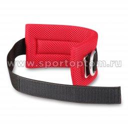 Манжета на ногу (сетка) SM-380 26*10*1 см Красно-черный