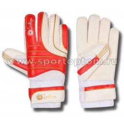Перчатки вратарские INDIGO 1210 Бело-красный