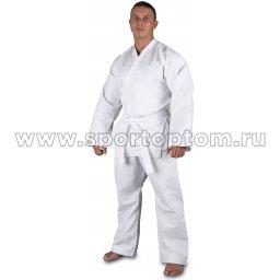 Кимоно карате традиционное 52-54/170 хлопок 100 % плотность 270-300 г/м2 RA-011 Белый