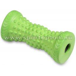 Ролик массажный для ног INDIGO PVC IN189 16*7,6 см Зеленый