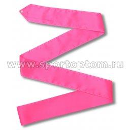 Лента гимнастическая без палочки СЕ2 4,0 м Фуксия