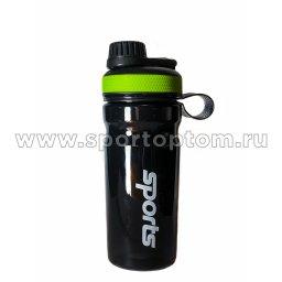 Бутылка для воды   YY-106 600 мл Черно-зеленый