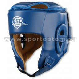 Шлем боксерский RSC PU  BF BX 201 Синий