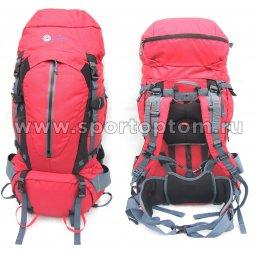 Рюкзак INDIGO  EXPLORE 90 л Красно-серый