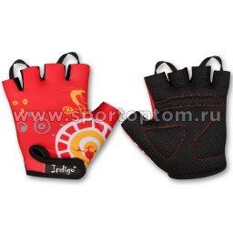 Перчатки вело детские INDIGO Винтик SB-01-8825 2XS Красный