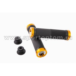 Вело Ручки  с мет.зажимами H-G 119      12.9 см Черно-золотой