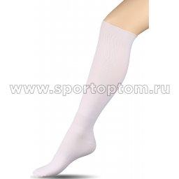 Гетры футбольные Спорт 2 Белый
