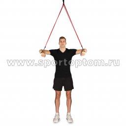 Эспандер Лыжника-Боксёра INDIGO 3 шнура SM-0573 (3)