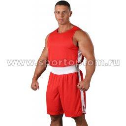 Форма боксёрская RSC со вставками  BF BX 09 Красный