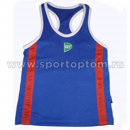 Майка боксёрская Green Hill KIDS полиэстер   BVK-3648 Синий