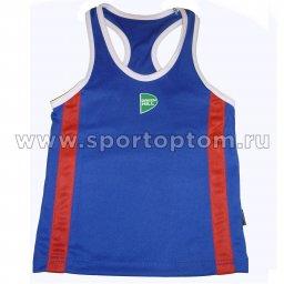 Майка боксёрская Green Hill KIDS полиэстер   BVK-3648 Синий