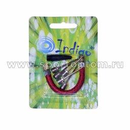 Игла для мячей Indigo TAP-14B (6шт) +шланг (5 метал+1 конус) 14В-TAP