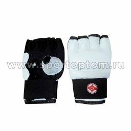 Перчатки карате LEOSPORT(киокусинкай) н/к LR-06 L Белый