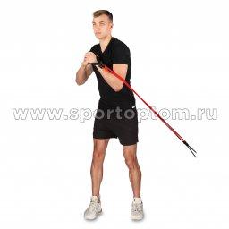 Эспандер Боксёра INDIGO 2 жгута SM-053 (5)