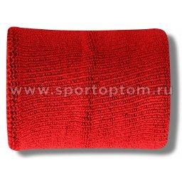 Напульсник махровый (2шт)  ЛВ4 10*7см Красный