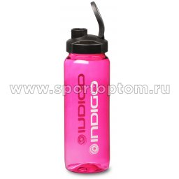 Бутылка для воды INDIGO VUOKSA 800 мл тритан IN007 розовый (2)