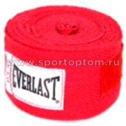 Бинт боксёрский EVERLAST  4455RPU 2,75 м Красный