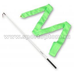 Лента гимнастическая с палочкой 58 см AMAYA 330415 5,0 м Зеленый