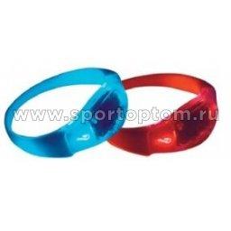 Вело Браслет Светящийся ( батарейки в комплекте)  VL 267-20    Красный