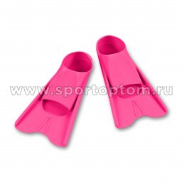 Ласты для бассейна INDIGO SM-375 34-35 Розовый