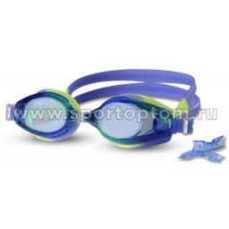 Очки для плавания INDIGO  1203 G Сине-Жёлтый