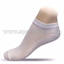 Носки спортивные укороченные хлопок СН08 Белый