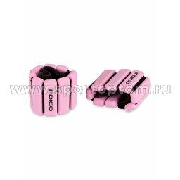 Утяжелители INDIGO ACTIVE силикон IN283 2*0,45 кг Розовый