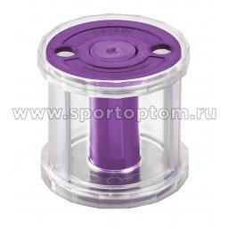 Катушка для лент художественной гимнастики INDIGO LOTTY IN226 Фиолетовый