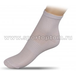 Носки спортивные средние хлопок ЛВ18-1 32-34 Белый